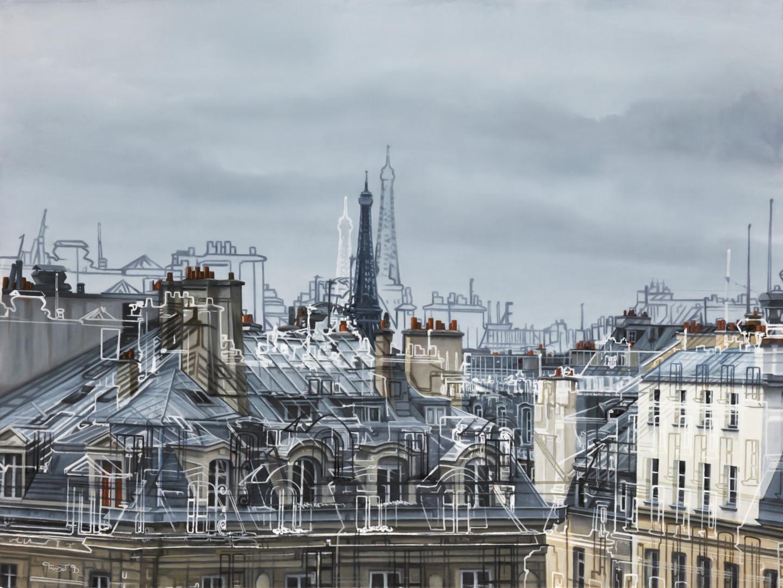 Bruno Mondot - toit de Paris